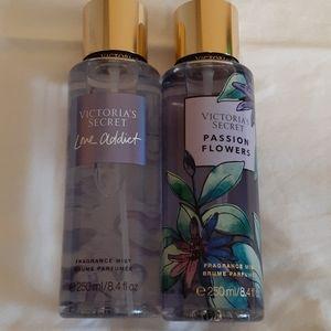 2 Victoria secret fragrance